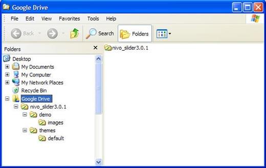 Google Drive computer folder