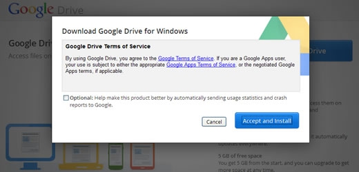 STEP 2: Download Google Drive - Wohphi